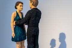 Stefan Balkenhol, Tanzendes Paar, 2013, © VG Bild-Kunst, Bonn 2021, Foto: Thomas Köster