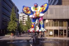 Niki de Saint Phalle und Jean Tinguely, Lifesaver, 1989/93,  © VG Bild-Kunst, Bonn 2021, Foto: Britta Lauer
