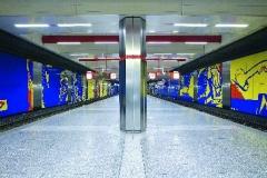 Manfred Vogel, U-Bahn-Haltestelle Rathaus, Foto: Jürgen Diemer
