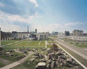 """Das Foto zeigt den Park """"Garten der Erinnerung""""."""