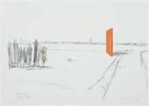 Die Abbildung zeigt eine Planskizze der Rheinorange.