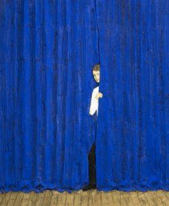 Das Bild zeigt ein Werk des Künstlers Stephan Balkenhol.